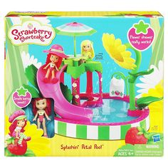 New Strawberry Shortcake 5 Doll Hat Box Toy Collection With Lots Of Accessories Hasbro Girl Toys