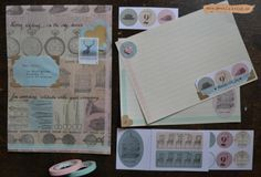 Winactie Studio Stationery : Jennie hinchcliff author of good mail day on her work. art: mail
