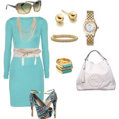 Ladies who lunch, created by msgeegee on Polyvore