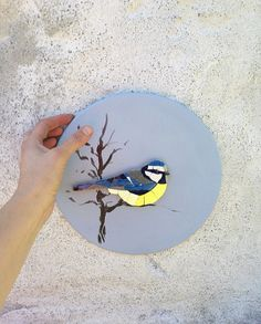 Mosaic Animals, Mosaic Birds, Mosaic Art Projects, Mosaic Crafts, Wabi Sabi, Art Mural, Wall Art, Mosaic Tile Designs, Deco Nature