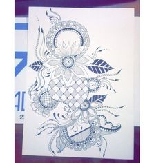 Never stop drawing, especially mandala design. Anyone can draw mandala. I take this picture on my instagram  hope you like that