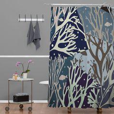 Buy Shower Curtain with The Ocean designed by One of many amazing home décor accessories items available at Deny Designs. Ocean Shower Curtain, Cute Shower Curtains, Home Decor Accessories, Home Goods, House Design, Bathroom, Washroom, Full Bath, Bath