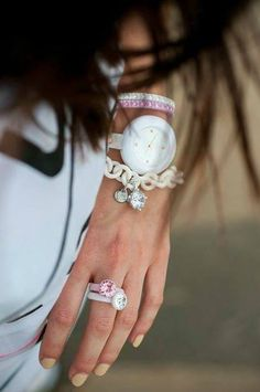 Reloj y pulsera Ops Objects, chulísimos :D
