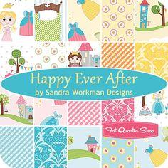 Happy Ever After Yardage Sandra Workman Designs for Riley Blake Designs