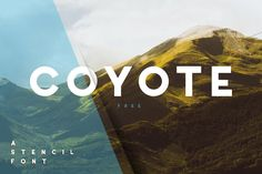Coyote Sans Serif Font is a fancy retro font with sharp edges to emphasize the calm character of the font. Or you go crazy with the alternative letters. Free Fonts Sans Serif, Logo Fonts Free, Free Typeface, Brand Fonts, Typography Fonts, Universe Font, Minimalist Font, Retro Font, Modern Fonts