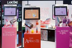 design-retail-podium-Lancôme-Juicy Shaker-Energie de vie-éphémère-cosmétique-make up-soin_By Leonard El Zein_04