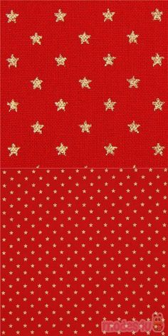 "red cotton fabric with metallic gold color mini stars, Material: 100% cotton, Fabric Type: strong cotton printed sheeting fabric, Fabric Width: 110cm (43"") #Cotton #Stars #OuterSpace #Metallic #JapaneseFabrics Kawaii, Metallic Gold Color, Christmas Fabric, Gold Stars, Decoration, Fabric Patterns, Mini, Cotton Fabric, Patterns"