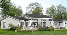 LFD Artic Frame 102 Maison livrée en kit de 76.3M2   maisons ...