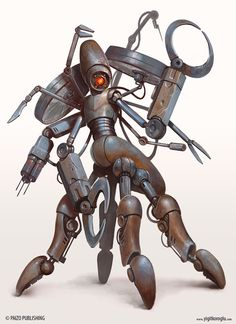 Medibot by yigitkoroglu on DeviantArt Star Wars Droids, Star Wars Rpg, Dark Souls, Character Concept, Character Design, Medical Robots, Dragons, Pen & Paper, Futuristic Armour