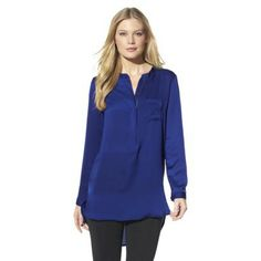 Mossimo® Womens V-Neck Popover Tunic - Assorted Colors