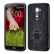 Funda LG G2 Cruzerlite - Bugdroid Circuit Gris  $10.201,70