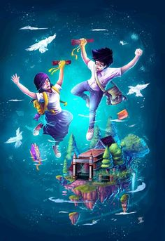 Let's Flying Together by sifterone.deviantart.com on @DeviantArt