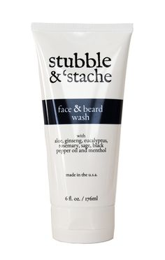 Stubble & 'Stache Face and Beard Wash hydrates, soothes, and helps firm the skin.It also cleanses the face and beard without over-drying. Best Straight Razor, Mustache Grooming, Top Hairstyles For Men, Black Pepper Oil, Beard Wash, Wet Shaving, Shaving Tips, Cosmetics Industry, Facial Cleanser