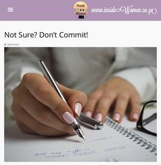 Not Sure? Don't Commit! by #Up_phelele #HaveAread #insideWomenBlog #LadyBloggers #Up_phelele #Bloggers #BlackGirlsWhoBlog #WritingCommunity #Creatives #Inspiration #Women #SouthAfricanBlog 🇿🇦