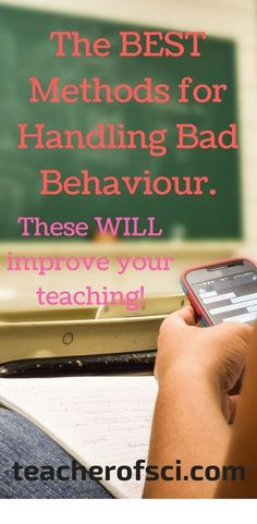 You know you are going to come across bad behavior this year, you know it will make you want to tear your hair out. Find out here how to handle it........ #teacherofsci #classroommanagement, #badbehavior #behaviormanagement #adviceforteachers #teacheradvice #teachertips #teachingtips #teacher #teachers #teaching #education Classroom Discipline, Classroom Behavior, School Classroom, Clean Classroom, Apple Classroom, School Discipline, Google Classroom, Teacher Blogs, Teacher Hacks