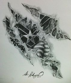 Another USAF commissioned tattoo