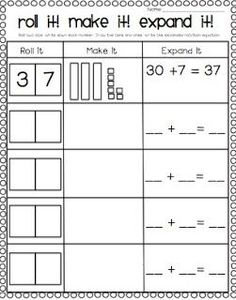 I have been teaching place value and missing addends all week! You can check out my missing addends freebie {reposted} and my latest place ...