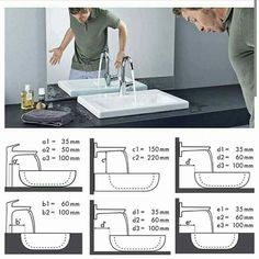 Dreaming of a designer or luxury bathroom? We've gathered together lots of gorgeous bathroom ideas for small or large budgets, including baths, showers, sinks and basins, plus bathroom decor ideas. Bathroom Plans, Bathroom Layout, Bathroom Interior Design, Modern Bathroom, Interior Design Living Room, Bathroom Ideas, Bathroom Organization, Tile Layout, Master Bathrooms