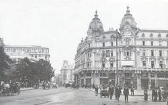 Bucuresti - Hotel Imperial si Hotel Athenee Palace - antebelica Old Pictures, Old Photos, Little Paris, Bucharest Romania, Old City, Photo Archive, Time Travel, Barcelona Cathedral, Tourism