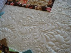 Breakfast at Tiffanys Lap Quilt - finished! - The Nifty Stitcher