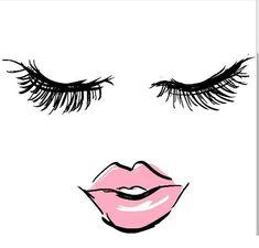 Makeup wallpaper younique Ideen - Make-Up Younique, Big Lashes, Eyelashes, Elf Make Up, Lash Quotes, Makeup Illustration, Makeup Wallpapers, Pink Makeup Wallpaper, Lashes Logo