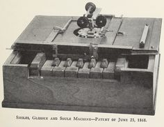 The first successful typewriter was patented 146 years ago today. Steve Ballmer, Phonograph, Historical Society, Lower Case Letters, Betrayal, Shit Happens, History, Typewriters, Life