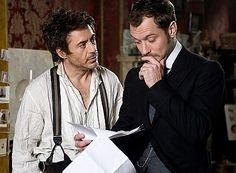 Game of Shadows, Sherlock and Watson.