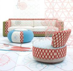 sushi furniture style by moroso