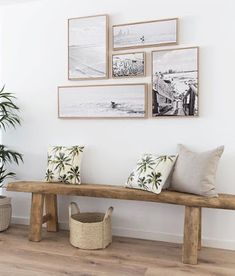 Home Decorating Ideas Furniture small picture gallery kleine Bildergalerie & Holzbank & Flur Home Decorating Ideas Möbel The post Home Decorating Ideas Furniture kleine Bildergalerie appeared first on Lori& Decoration Lab. Coastal Living Rooms, Home And Living, Coastal Bathrooms, Decor Room, Living Room Decor, Bedroom Decor, Bedroom Ideas, Master Bedroom, Bedroom Wall