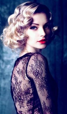 Short Prom Hairstyles: 24 Gorgeous Styles: A 30s Style Wave