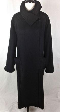 Loro Piana Cashmere Jacket Womens Black Long Sleeve Dior L  #LoroPiana #Cape