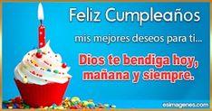 Tarjetas de Cumpleaños Happy Birthday Images, Birthday Candles, Ethnic Recipes, Food, Gifs, Olaf, Archie, Grande, World