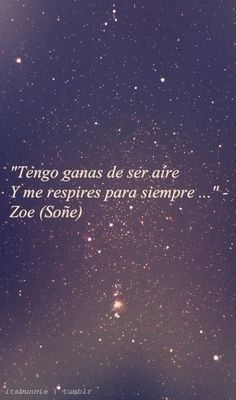 #zoé #soñe