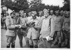 Blue Army, Troops, Soldiers, World War I, Wwi, Portrait, Images, Polish, Military