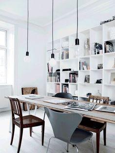 Beautifully Simple and Stylish Copenhagen Home