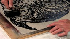 Anatomy of a Linocut by Bill Fick by Center for Documentary Studies. Process film of Chapel Hill artist Bill Fick creating and printing one his unique linoleum works