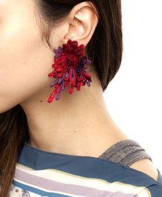 #emitakazawa #accessory #earring #silk