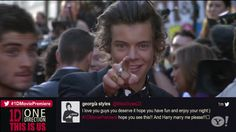 You, yes you ... You're cute  ❤ Harry Styles