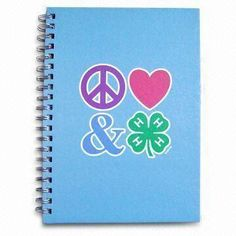 Notebook, Customized Logo is Welcome, with Hard Paper Cover