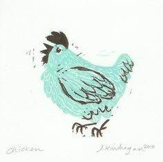 Amanda Kindregan Chicken - We have a red one of these at Clover