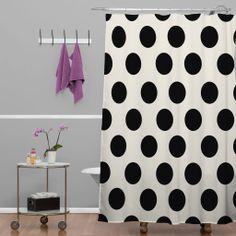 Allyson Johnson Classiest Cream Shower Curtain   DENY Designs Home Accessories #denydesigns #home #homedecor #bathroom