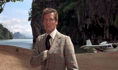 Roger Moore as James Bond in The Man With The Golden Gun