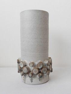1960s Ceramano Ceralux Vase by Hans Welling Modernist Mid Century.