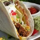 Double Decker Tacos - wrap a flour tortilla spread with refried beans around a taco made with a crisp corn shell.  Yummy, plus keeps the crisp corn shell from breaking into a million pieces when you bite into it