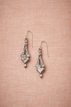 Deco Tower Drops in Shoes & Accessories Jewelry at BHLDN