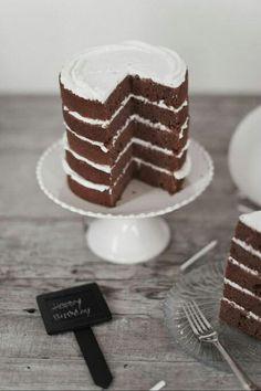 #chocolate #birthday #cake
