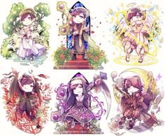 pixiv is an illustration community service where you can post and enjoy creative work. A large variety of work is uploaded, and user-organized contests are frequently held as well. Anime Chibi, Character Concept, Concept Art, Osomatsu San Doujinshi, Dark Anime Guys, Ichimatsu, Cute Chibi, Funny Comics, Cute Drawings