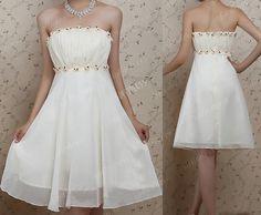 strapless bridesmaid dresses chiffon bridesmaid by sofitdress, $99.00