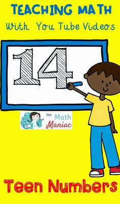 Are your primary students solid with their teen numbers? Check out these fun You Tube videos for practicing teen numbers!