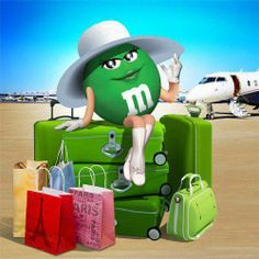 Ms. Green going to New Mexico to see her grandkids! (Me)